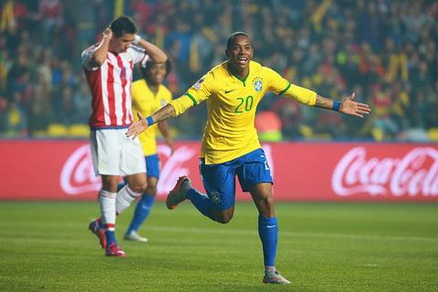 Video clip Brazil 1-1 Paraguay [Pen 3-4] hinh anh